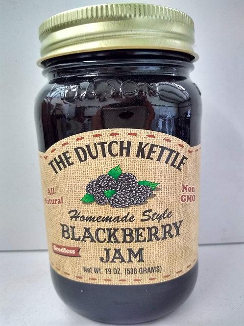 The Dutch Kettle Blackberry Jam - Seedless, 19oz