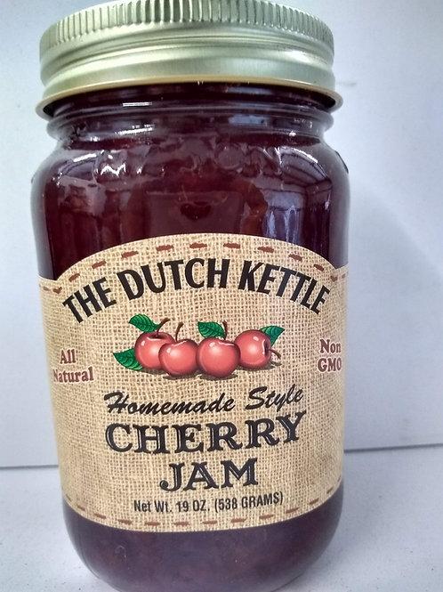 The Dutch Kettle Cherry Jam, 19oz