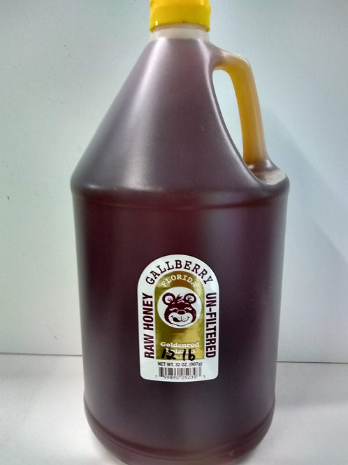 Gallberry Raw Honey- one gallon