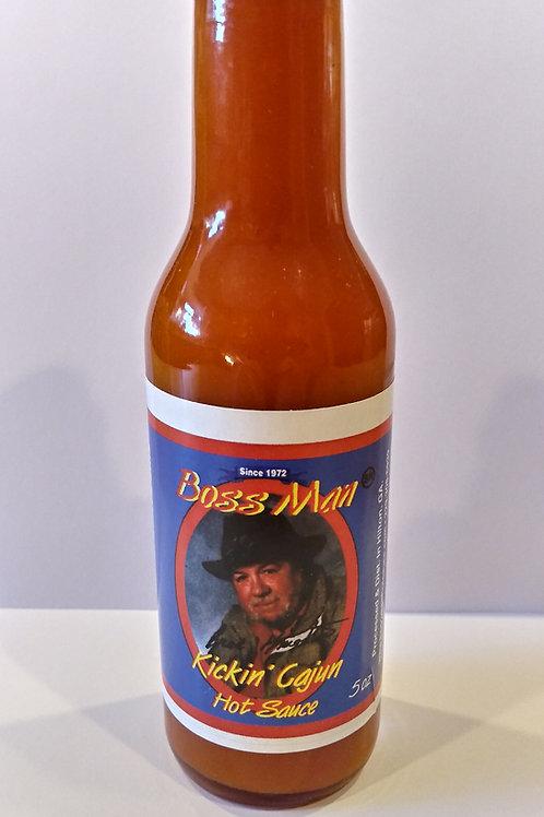 Boss Man Kickin' Cajun Hot Sauce