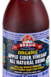Braggs Concord Grape Apple Cider Vinegar Drink
