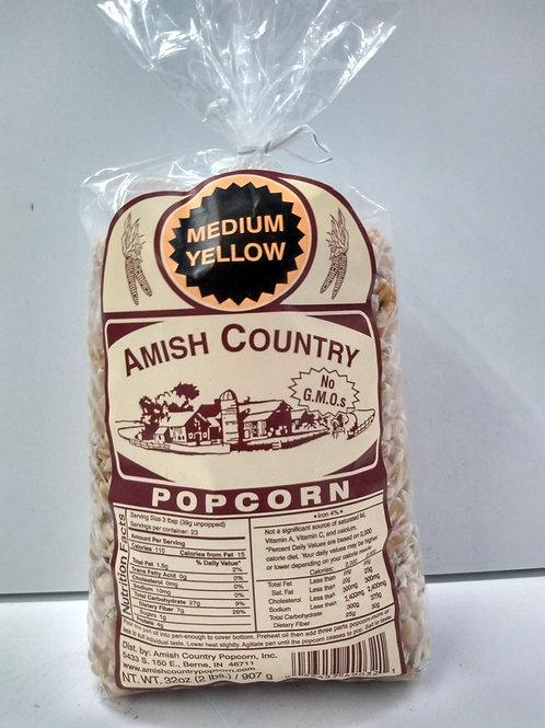 Amish Country Medium Yellow Popcorn- 1lb
