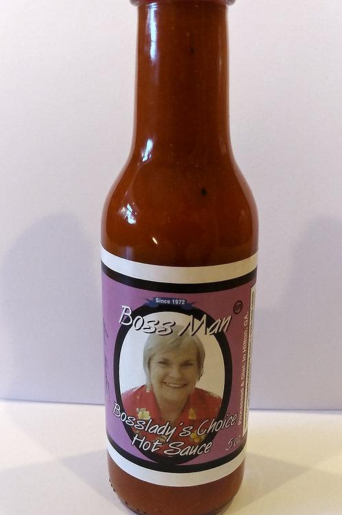 Boss Man Bosslady's Choice Hot Sauce