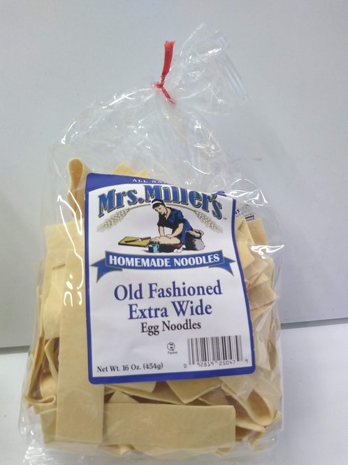 Mrs. Miller's Old Fashioned Extra Wide Egg Noodles