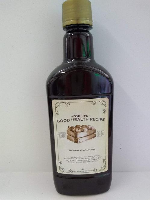 "Yoder""s Good Health Recipe"
