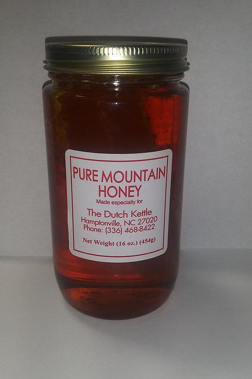 Pure Mountain Honey 16 oz.