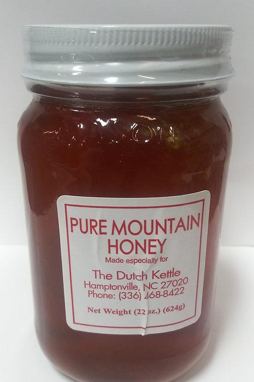 Pure Mountain Honey 22 oz.