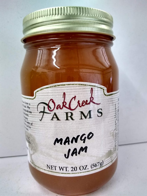 The Dutch Kettle Mango Jam, 20oz