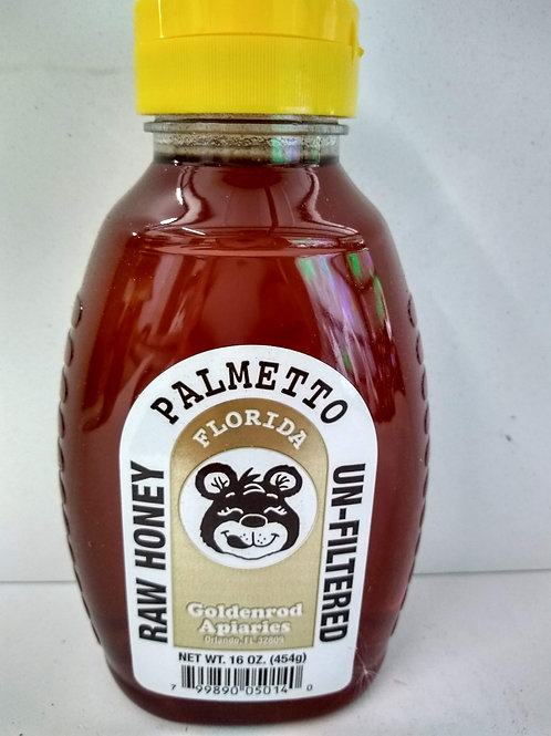 Palmetto Raw Honey- 2lb