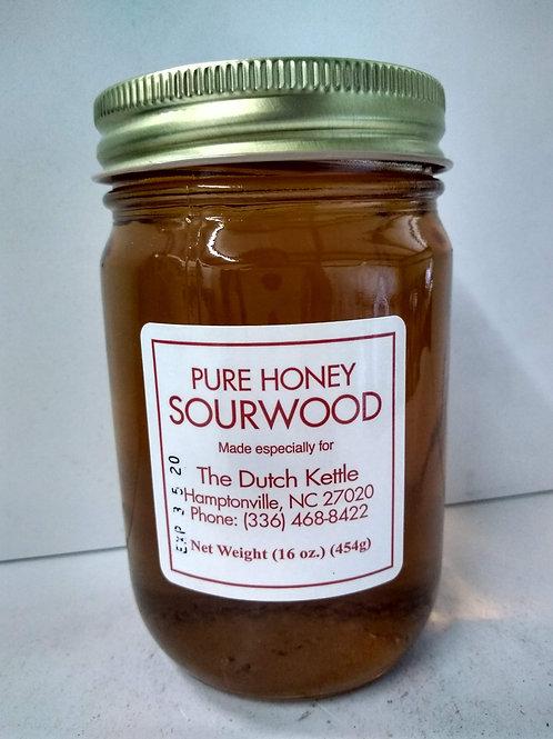 Pure Honey Sourwood, 16oz
