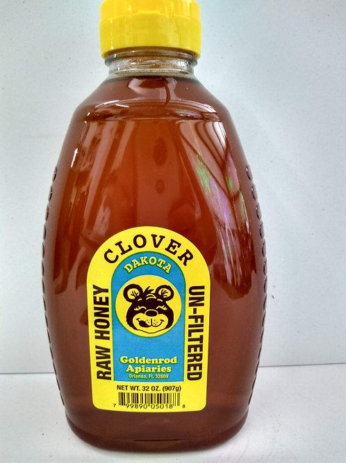Clover Raw  Honey- 2lb