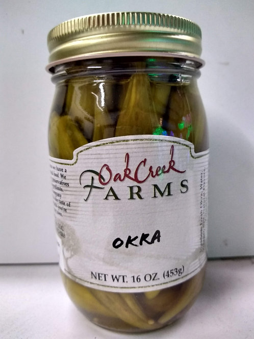 Oak Creek Farms Okra, 16oz