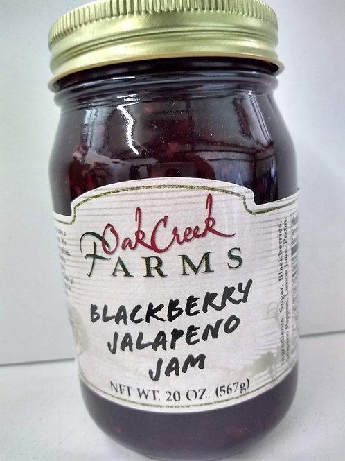 Oak Creek Farms Blackberry Jalapeno Jam, 20oz