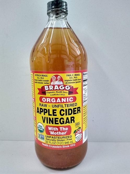 Bragg Apple Cider Vinegar, 32oz