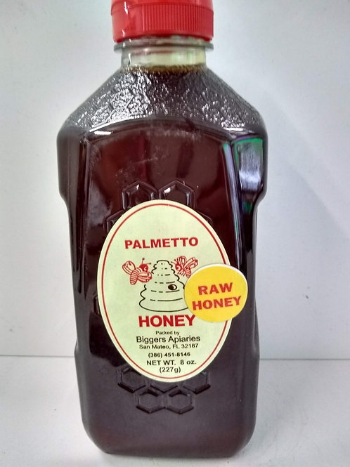 Palmetto Raw Honey- 3lb