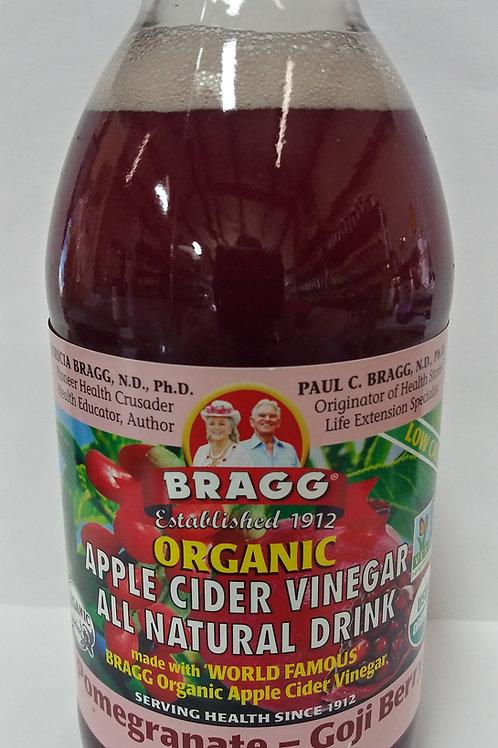 Apple Cider Vinegar Drink - Pomegranate Goji Berry