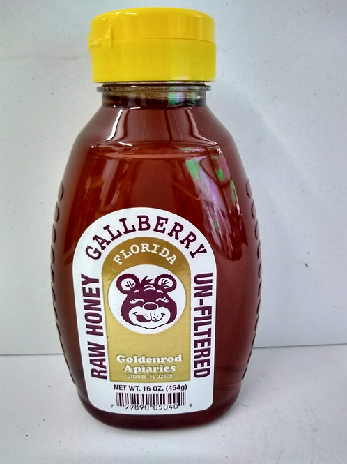 Gallberry Raw Honey- 1 lb
