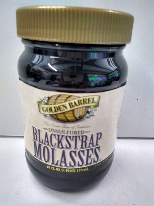 Golden Barrel Blackstrap Molasses, 16oz