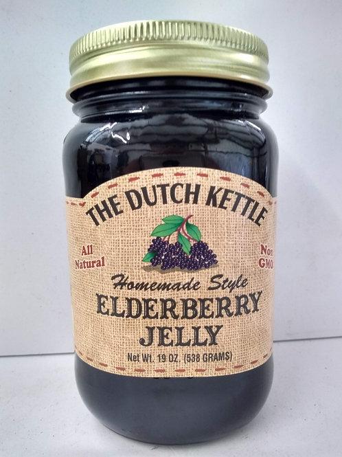 The Dutch Kettle Elderberry Jam, 19oz