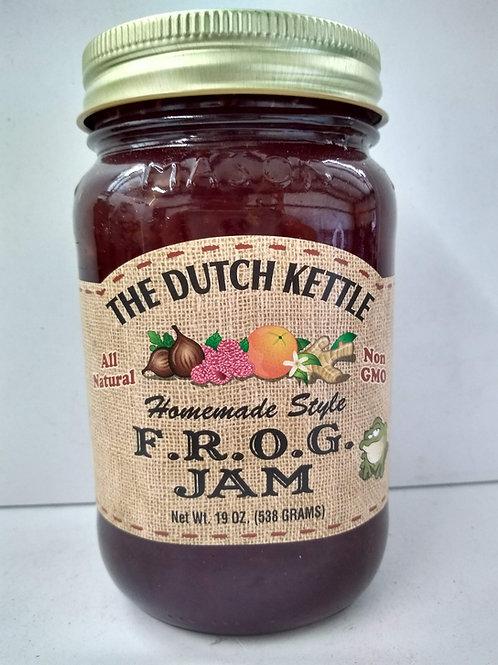 The Dutch Kettle F.R.O.G. Jam, 19oz