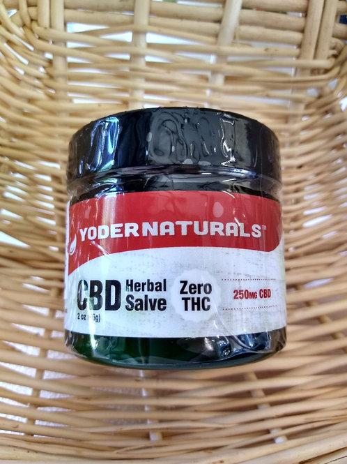 YoderNaturals CBD Herbal Salve