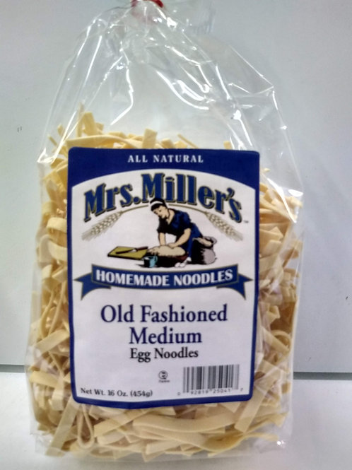 Mrs. Miller's Old Fashioned Medium Egg Noodles
