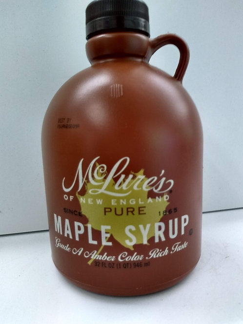 McLure's Maple Syrup- 32oz