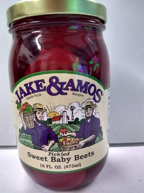 Jake & Amos Sweet Baby Beets- 16oz