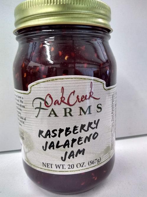 Oak Creek Farms Raspberry Jalapeno Jam, 20oz