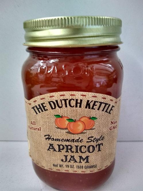 The Dutch Kettle Apricot Jam, 19oz