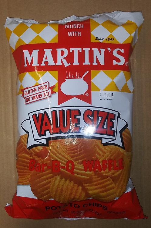 Martin's BBQ Waffle Potato Chips