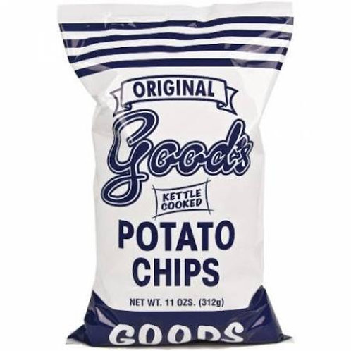 "Good's ""Kettle Cooked"" Potato Chips, 11oz"