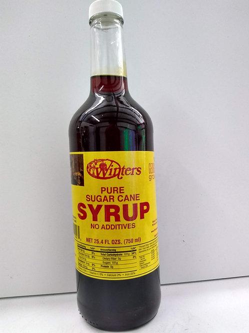 Winter's Pure Sugar Cane  Syrup, 25.4oz