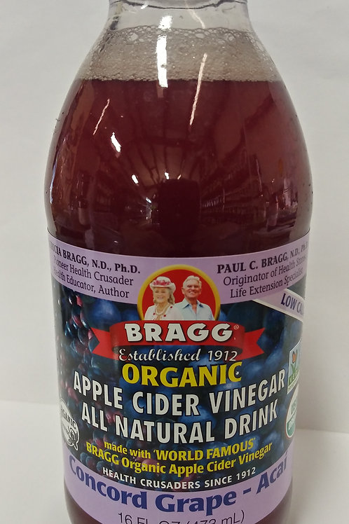 Apple Cider Vinegar Drink - Concord Grape Acai