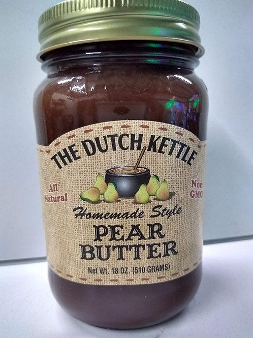 The Dutch Kettle Pear Butter, 18oz