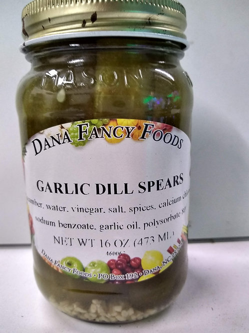 Dana Fancy Foods Garlic Dill Spears, 16oz