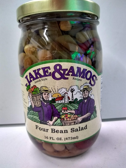 Jake & Amos Four Bean Salad- 16oz