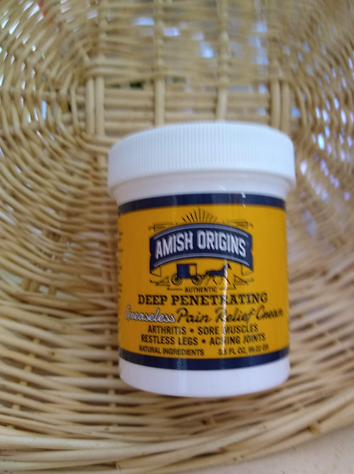 Amish Origins Deep Penetrating Pain Cream