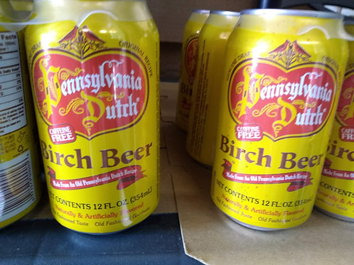 Pennsylvania Dutch Birch Beer, 6/12oz cans