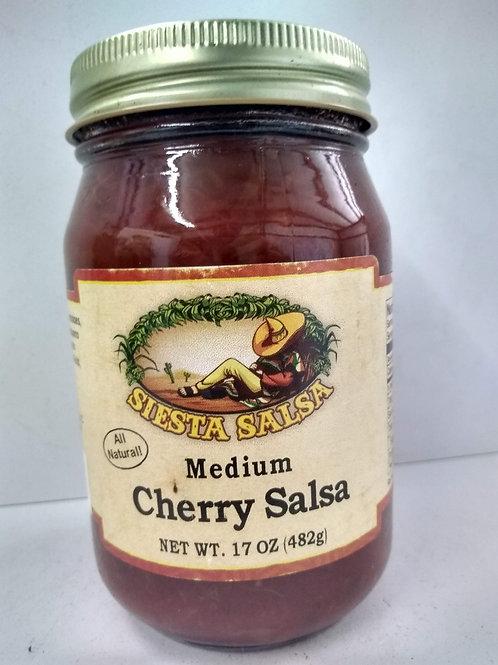 Siesta Salsa Cherry Salsa, medium 17oz