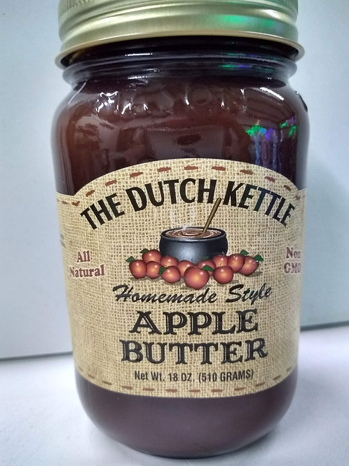 The Dutch Kettle Apple Butter, 18oz