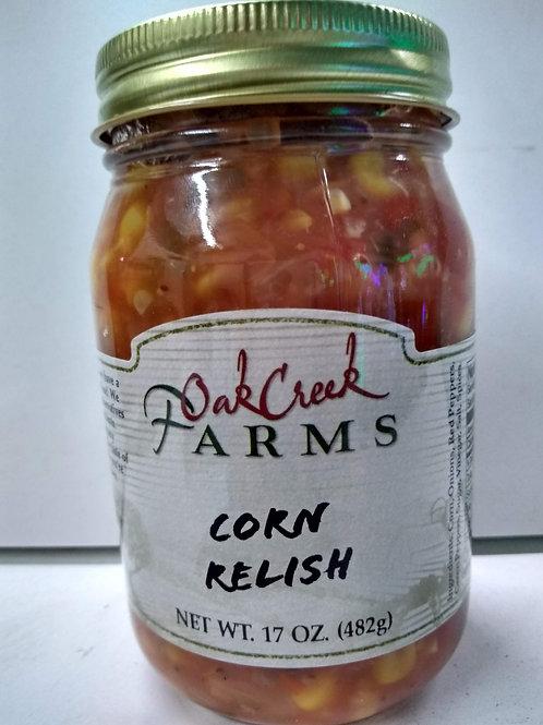 Oak Creek Farms Corn Relish, 16oz