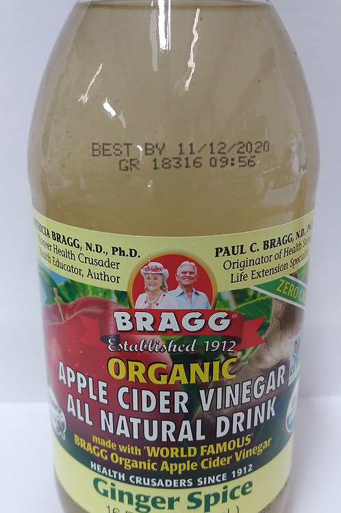 Apple Cider Vinegar Drink - Ginger Spice