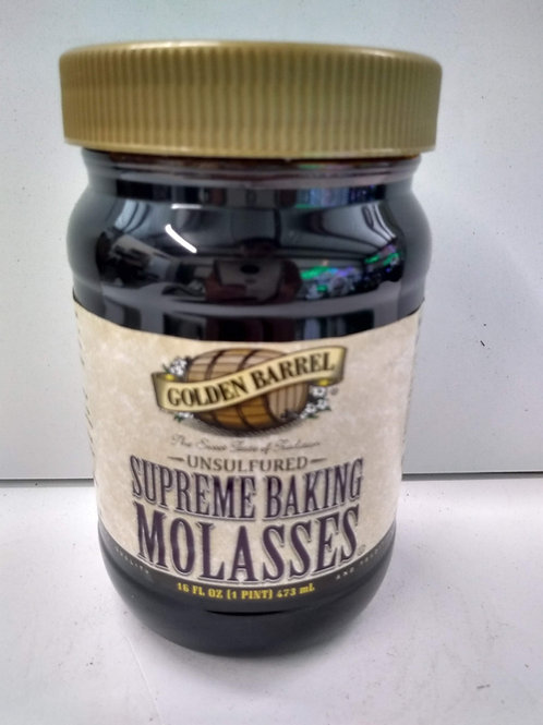Golden Barrel Supreme Baking Molasses, 16oz