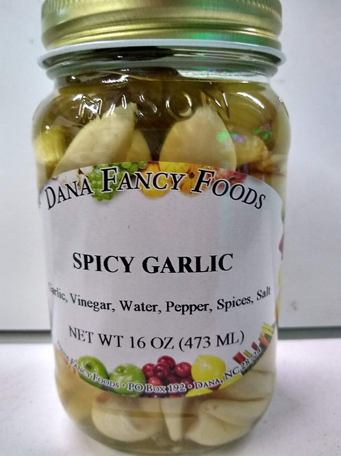 Dana Fancy Foods Spicy Garlic, 16oz