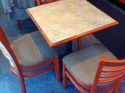 Restaurant Table/Seating
