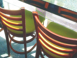 Counter Coffee Shop Seating