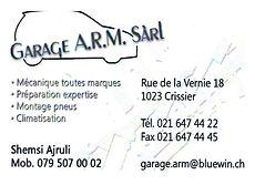 Garage ARM Crissier