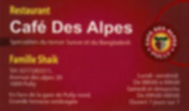Café des Alpes Pully