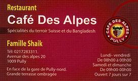 Café des Alpes Pully